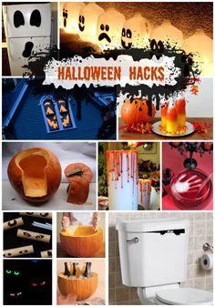 Halloween Hacks - SO many fun and EASY halloween decorations