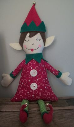 Jane of All Crafts: Elf on the shelf {my version} tutorial - I might make some changes but it is a basic pattern