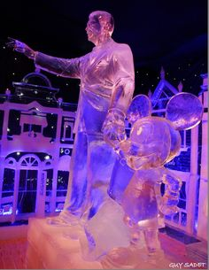 This is absolutely amazing!  Disney Ice Sculptures in Bruges.  There is a 360 tour online!!  Check it out!!