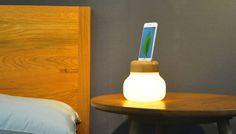 The Mushroom LED Lamp by ZISION Studio x IDMIX