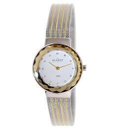 Skagen Women s Classic Silver Two-tone Stainless-Steel Quartz Watch fd1ed83ef9a4