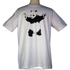 Banksy Panda Shirt $19.99