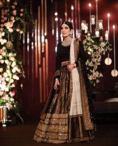 Find the latest Bollywood celebrity inspired lehenga designs for weddings. Check Lehenga designs worn by Alia Bhatt, Katrina Kaif, Shradhha Kapoor. Desi Wedding Dresses, Pakistani Wedding Outfits, Bridal Outfits, Pakistani Dresses, Indian Dresses, Indian Outfits, Bridal Dresses, Pakistani Bridal Couture, Modest Wedding