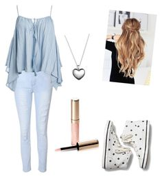"""""""Untitled #13"""" by boston-c ❤ liked on Polyvore featuring Glamorous, Sans Souci, Keds, Pandora and By Terry"""