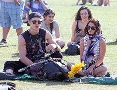Austin Butler and Vanessa Hudgens Coachella Music Festival Day 3