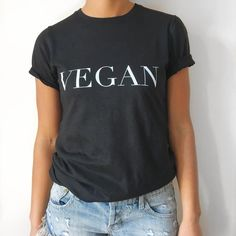 Tag us on Instagram (@rawapparelco) wearing your t-shirt to be featured on our page! Keep it model chic this Summer in our premium Vegan slogan black t-shirt. This relaxed fit piece is made and printed ethically in the USA using 100% organic and sustainable cotton. Pair with ripped denim for an effortlessly Parisian city summer look.  This t-shirt fits true to size so check out our size guide to ensure the perfect fit!  100% Organic and Sustainable Cotton Made in the USA, Sweatshop Free…