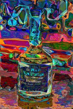OLD RIP VAN WINKLE BOURBON / Large Signed POP PRINT / Archival Paper/ Eisner #OutsiderArt Rip Van Winkle Bourbon, Watercolor Paper, Giclee Print, Pop Art, Art Prints, Canvas, Abstract Paintings, Ebay, Vintage