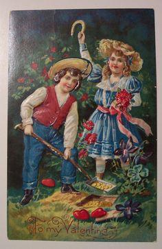 https://flic.kr/p/4ppFK9 | Vintage Valentine's Day Postcard