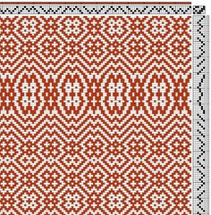 Image result for weaving patterns 4 shaft twill