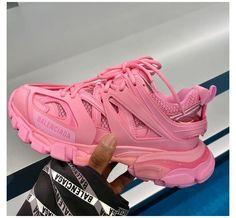 Pink Balenciaga, Balenciaga Sneakers, Chanel Sneakers, Sneaker Outfits Women, Jordan Shoes Girls, Aesthetic Shoes, Hype Shoes, Chanel Shoes, Dream Shoes