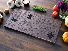 Periodic Table Cutting Board, Graduation Gift, Engraved Wood Kitchen Decor…