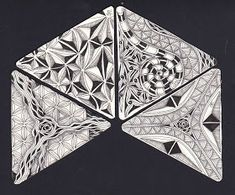 I know... I am a bit late..   Zentangle has started a series of 12 days of 3Z tiles with especially selected tangles.  I love the idea and I...