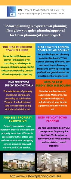 We offer you best team of subdivision Melbourne. Our expert team helps you sub-division of your land in agreement with the Victoria act. We offer you quick sub-division policy for you. We provide you best VCAT planner for investigating your council decision. We present your case under the best VCAT that verify your local council arguments and decision.