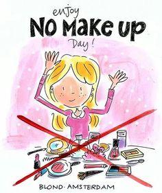 De Brandwonden Stichting daagt alle vrouwen uit om 24 uur lang géén make-up te dragen. Dit omdat een brandwond zich niet zomaar laat wegtoveren en omdat echte schoonheid van binnen zit.  Doe jij ook mee?! 18-09-2014.