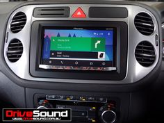 VW Tiguan with Android Auto installed by DriveSound. Android Auto, Gps Navigation, Vw Tiguan, Car Audio, User Interface, Brisbane