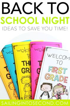 Back to School Night is the perfect time for teachers to start building relationships with parents and students! Click the picture to check out a few time-saving, welcoming ideas and tips to make your back to school night amazing. #backtoschoolnight #meettheteacher