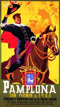 San Fermín 1946 Pedro Lozano de Sotés