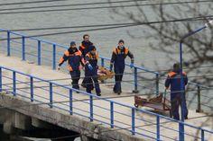 Avión ruso con 92 pasajeros  se estrella en el Mar Negro....