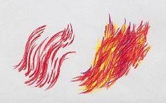 Basic Colored Pencil Shading: Directional Mark Making