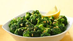 Add color to your plate using Green Giant® Valley Fresh Steamers™ frozen broccoli florets.  A delicious side dish ready in just 15 minutes.