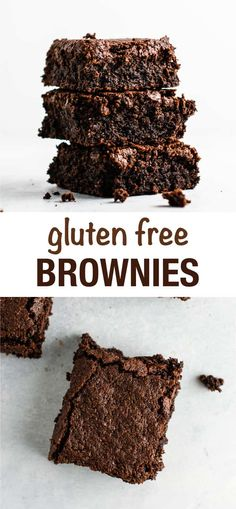 Easy, fudgy gluten free brownies recipe made with oat flour and coconut flour. A delicious dairy free gluten free dessert that everyone will love! Dairy Free Keto Recipes, Dairy Free Pesto, Dairy Free Snacks, Gluten Free, Lactose Free, Dairy Free Pumpkin Pie, Dairy Free Brownies, Coconut Flour Brownies, Brownie Recipes
