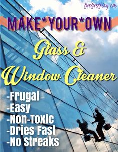 Time for a quick do-it-yourself recipe. This one is for homemade glass cleaner, and let me tell you – this stuff works! I'll NEVER buy any other window cleaner again. It's frugal- the total bottle (not including the cost of the plastic spray bottle) of this homemade glass cleaner will probably cost you less than...Read More »