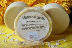 Glycerin Soap Oatmeal  Bath Home Decor Gift Favors by DaisyKays, $4.00