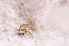 #dress #love #married #rings #wedding #wedding rings