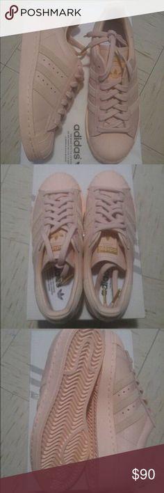 best service e55f0 f3a7d Adidas All Star Custom sz 5 Adidas All star custom. Baby pink shoe, suede