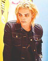 gerard way long blonde hair - Google Search