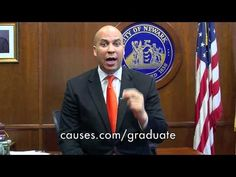 Mayor Cory Booker: Help End the Dropout Crisis
