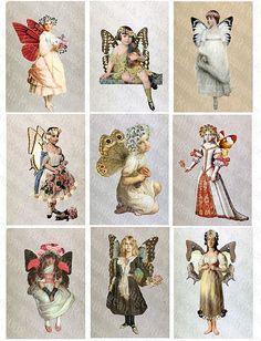 Altered art fairies
