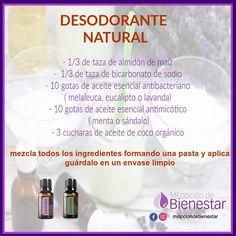 Beauty Secrets, Beauty Hacks, Doterra Recipes, Young Living Oils, Melaleuca, Doterra Essential Oils, Natural Cosmetics, Deodorant, Aromatherapy