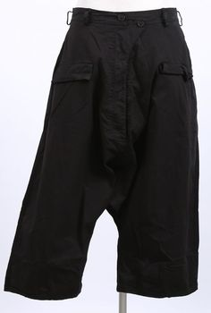 rundholz dip - Hose A-Linie Paint Cotton Stretch black - Sommer 2015