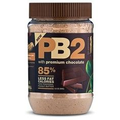 Peanut butter powder - just add water! Only 45 calories per serving. No additives, all natural ingredients: roasted peanuts, cocoa powder, sugar, and salt. Is this real? Low Calorie Peanut Butter, Pb2 Powdered Peanut Butter, Best Peanut Butter, Chocolate Peanut Butter, Chocolate Jar, Healthy Chocolate, Gourmet Recipes, Low Carb Recipes, Pb2 Recipes