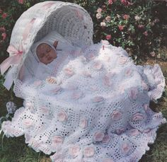 Roses Baby Afghan Crochet Patterns This pattern is no longer available for purchase dang it! So pretty too!