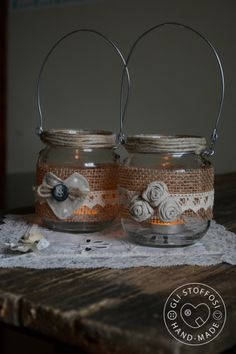 Lanterne handmade country chic