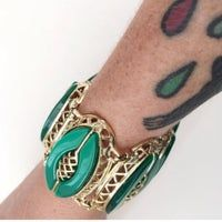 Vintage Green Cocktail Bracelet | Mercari