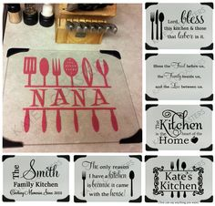 Personalized Glass Cutting Board With 7 Design Choices