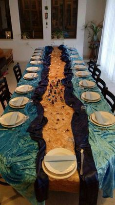 Seder table setting  #Passover