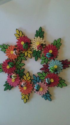 Quilling Flowers, Quilling Patterns, Quilling Designs, Paper Quilling, Handmade Crafts, Paper Cutting, Flower Arrangements, Origami, Anthropologie
