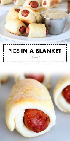 The best recipe for Homemade Pigs In a Blanket with a dough made entirely from scratch! This mini appetizer is easy to make and is WAY better than the crescent roll versions, and it's got the reviews to prove it! You will taste the difference. Promise!