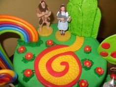 Wizard of Oz Cake — Birthday Cakes