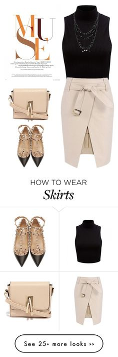 """Trench Skirt"" by aysenurtavlica on Polyvore"