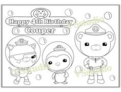 awesome tweak bunny from the octonauts coloring page | cookies ... - Octonauts Coloring Pages Print