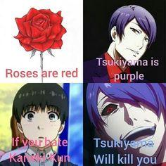 Tsukiyama, Ayato, Kaneki, Villain Deku, And July, Intp, Anime Meme, Zulu, Dark Fantasy