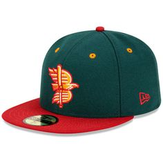 Boise Hawks Authentic Road Fitted Cap - MLB.com Shop