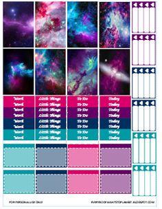 Everybody Wants To Plan.: Galaxy Theme/Kawaii Coffee Cups