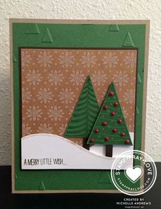 Stamp · Pray · Love: Holiday Catalag Sneak Peak #2 - SU Festival of Trees - Michelle Andrews