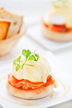Eggs Royale and Hollandaise Sauce   More foodie lusciousness here: http://mylusciouslife.com/photo-galleries/wining-dining-entertaining-and-celebrating/